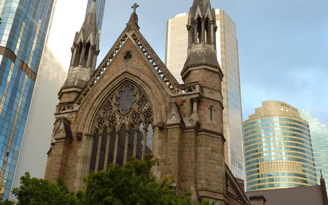 Brisbane CBD – Old and New